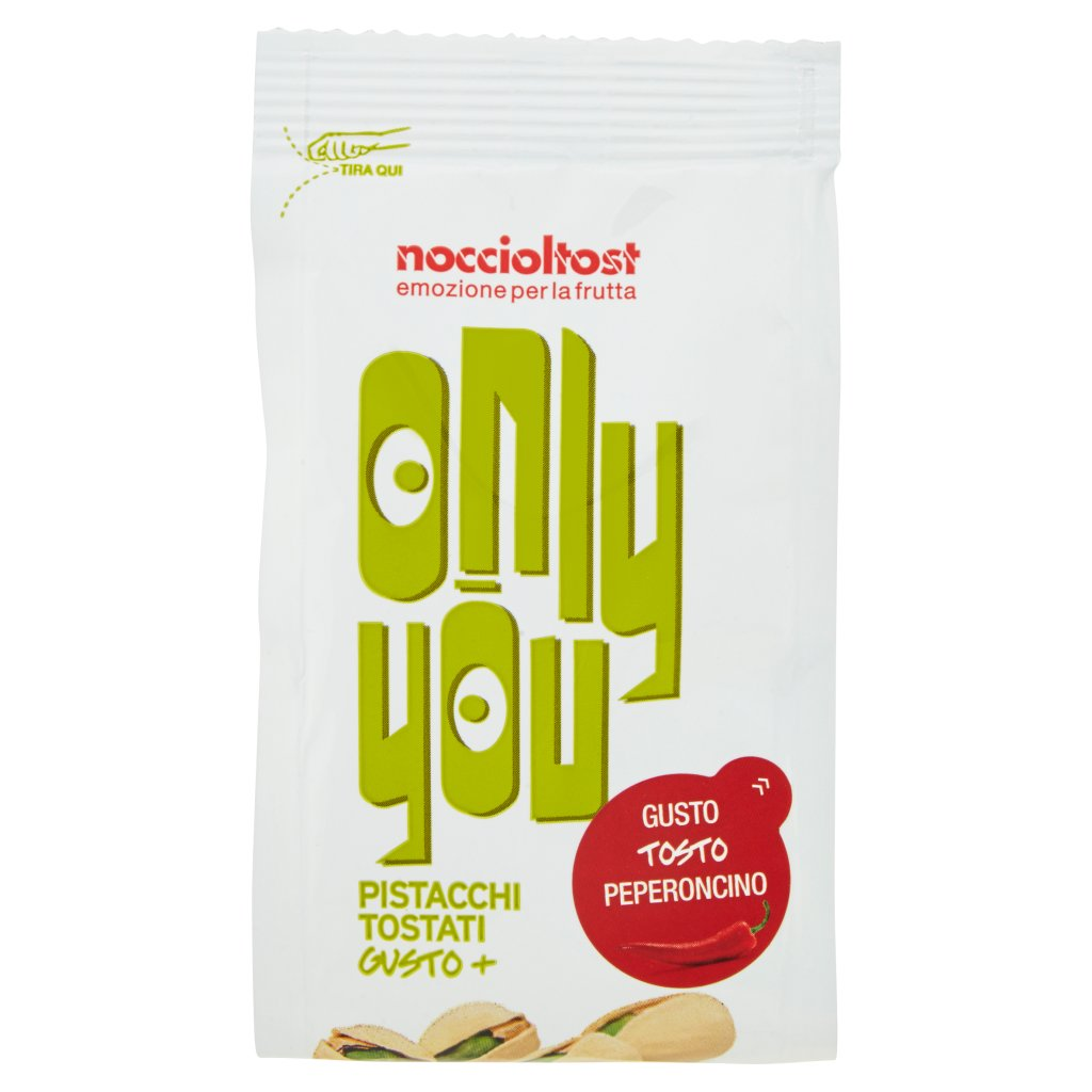 Noccioltost Only You Pistacchi Tostati Gusto+ Gusto Tosto Peperoncino