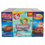 Pampers Baby-dry 5 Junior 11-25kg 108 Pz