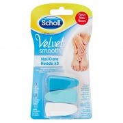 Scholl Velvet Smooth Lime per Kit Elettronico Nail Care X3