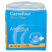 Carrefour 40 all in 1 Day Absodys Large