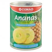 Conad Ananas a Fette in Succo d'Ananas
