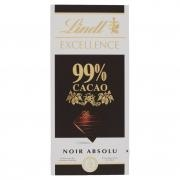 Lindt Excellence 99% Cacao Noir Absolu