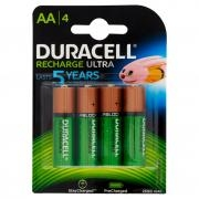 Duracell Recharge Ultra Aa 2500 Mah 4 Pz