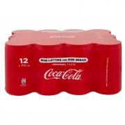 Coca-cola Original Taste Lattina 150 Ml Confezione da 12