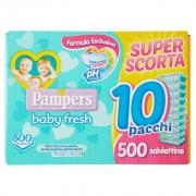Pampers Baby Fresh Formula Esclusiva X500