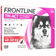 Frontline Tri-act Spot-on Xl 40-60kg 3 Pipette