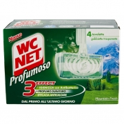 Wc Net Profumoso Mountain Fresh 4 x 34 g
