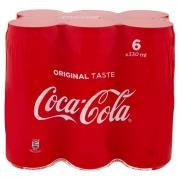 Coca-cola Original Taste Lattina 330 Ml Confezione da 6