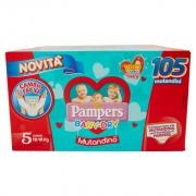 Pampers Baby-dry Giga Tg.5 X105