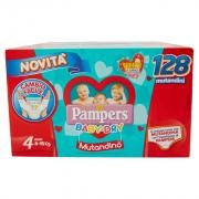Pampers Baby-dry Giga Tg.4 X128