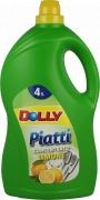 Detersivo Stoviglie Limone Dolly 4 l