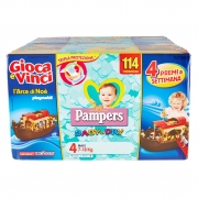 Pampers Baby-dry 4 Maxi 7-18kg 114 Pz