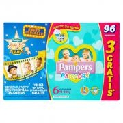 Pampers Baby-dry Extralarge X96