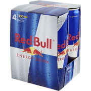 Red Bull Energy Drink (4 Lattine)